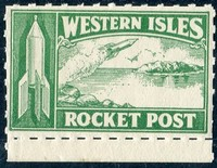 Buy Online - 1934 ZUCKER WESTERN ISLES ROCKET FLIGHT (024570)