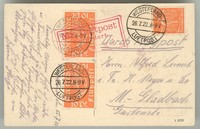 Buy Online - AIRMAIL 1922 WESTERLAND (023586)