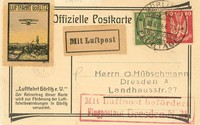 Buy Online - AIRMAIL GORLITZ AIR MEETING 1924 (022570)