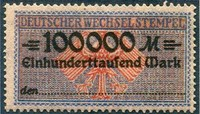 Germany Revenue Stamp Project