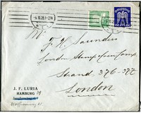 Buy Online - POSTAL HISTORY 1925 AIR MAIL (008173)