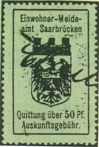 Saar Municipal Revenue Stamps to 1945