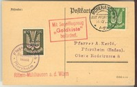 Buy Online - SEMI-OFFICIAL AIRS 1924 PFORZHEIM GLIDER FLIGHT (021545)