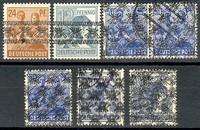 Buy Online - 1948 CURRENCY REFORM OVERPRINTS (023404)