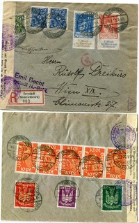 Buy Online - INFLATION REGISTERED AIRMAIL (024321)